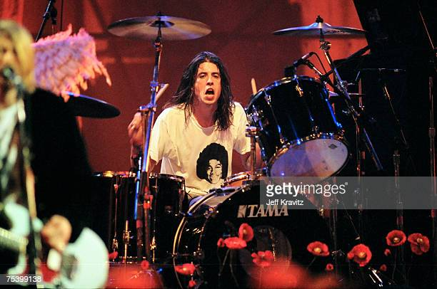 Dave Grohl of Nirvana
