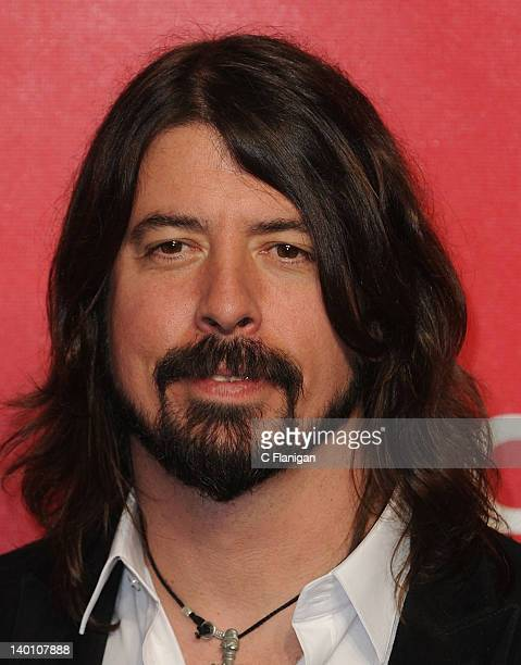 Dave Grohl of The Foo Fighters arrives at The 22nd Annual MusiCares Benefit Gala Honoring Sir Paul McCartney at Los Angeles Convention Center on...