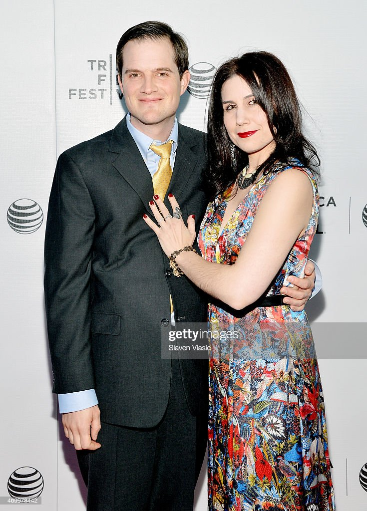 Dave Hamrick (L) and Lindsey Nebeker attend the premiere of 'Autism In Love' during the 2015 Tribeca Film Festival at Regal Battery Park 11 on April 16, 2015 in New York City.