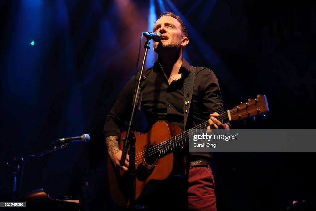 Brian Fallon Performs At Koko, London
