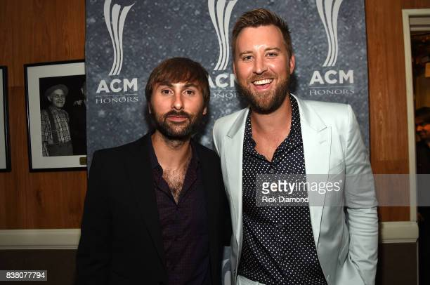 Dave Haywood and Charles Kelley attend the 11th Annual ACM Honors at the Ryman Auditorium on August 23 2017 in Nashville Tennessee