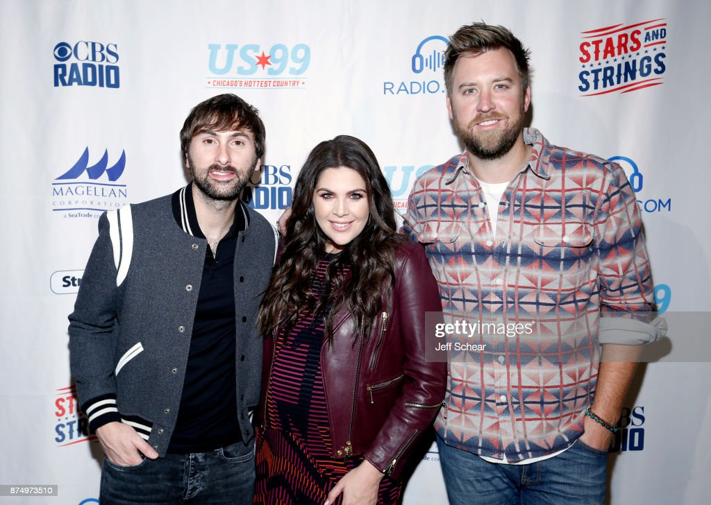 Lady antebellum pictures and photos getty images dave haywood hillary scott and charles kelley of lady antebellum attend a meet greet for cbs m4hsunfo