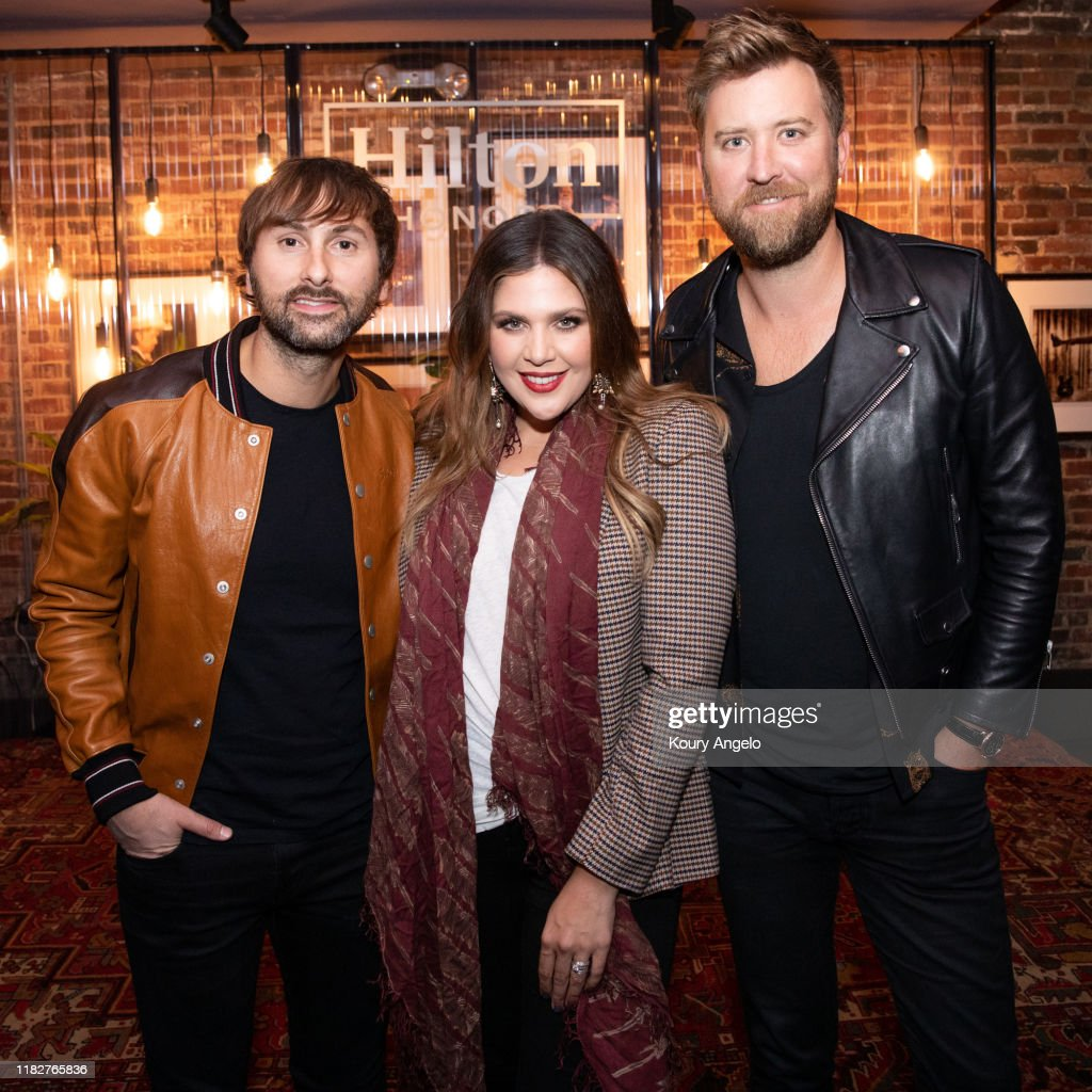 Hilton Honors Presents Exclusive Lady Antebellum Listening and Q&A Session Ahead of Release of New Album 'Ocean' : News Photo