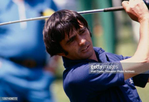 Dave Hill competing in the 1977 PGA Tournament of Champions ABC Sports coverage