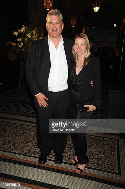 Dave Hogan and Janice Hogan arrive at the Philips British Academy Television Awards After Party at the Natural History Museum on June 6 2010 in...