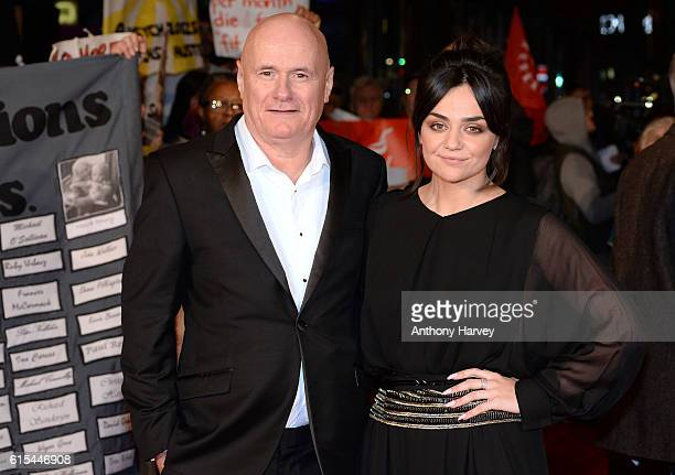 Dave Johns and Hayley Squires attend the 'I Daniel Blake' people's premiere at Vue West End on October 18 2016 in London England
