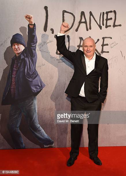 Dave Johns attends the 'I Daniel Blake' People's Premiere at Vue West End on October 18 2016 in London England