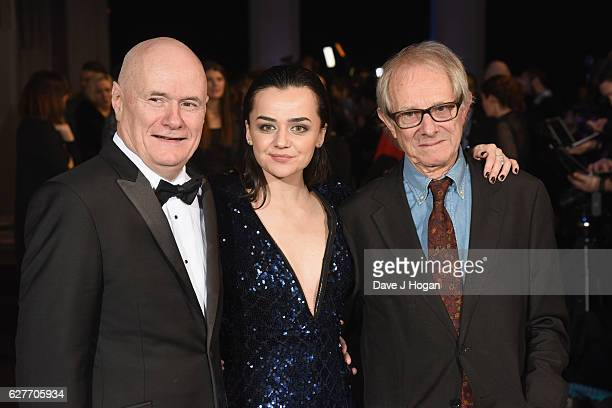 Dave Johns Hayley Squires and Ken Loach attend The British Independent Film Awards at Old Billingsgate Market on December 4 2016 in London England