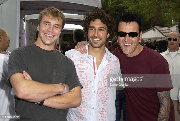 Dave Johnson Ethan Zohn Lex Von Den Burghe at the Target A Time for Heroes Celebrity Carnival Benefitting the Elizabeth Glaser Pediatric AIDS...