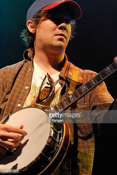 Dave Johnston of Yonder Mountain String Band during Green Apple Music Festival San Francisco Day 2 at The Fillmore Auditorium in San Francisco...
