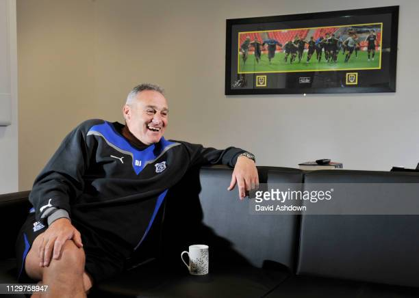 Dave Jones Manager of Cardiff FC 14/9/09