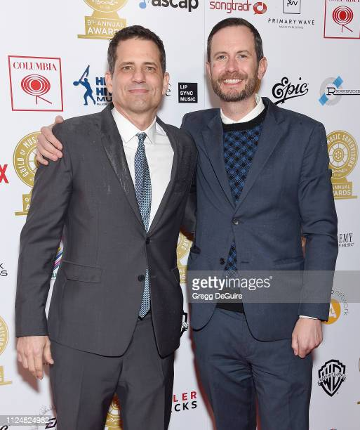 Dave Jordan attends the 9th Annual Guild Of Music Supervisors Awards at The Theatre at Ace Hotel on February 13 2019 in Los Angeles California