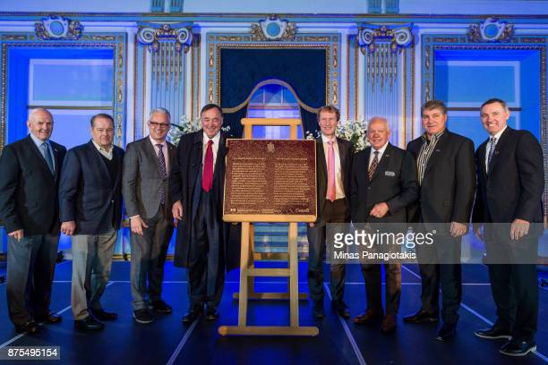 Dave Keon Rod Gilbert Canadian Parliament member Stephane Lauzon Frank Mahovlich Canadian Parliament member Marc Miller Yvan Cournoyer Ray Bourque...