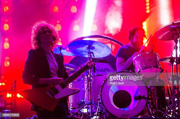Dave Keuning and Ronnie Vannucci of The Killers performs at Snowmass on September 3, 2016 in Aspen, Colorado.