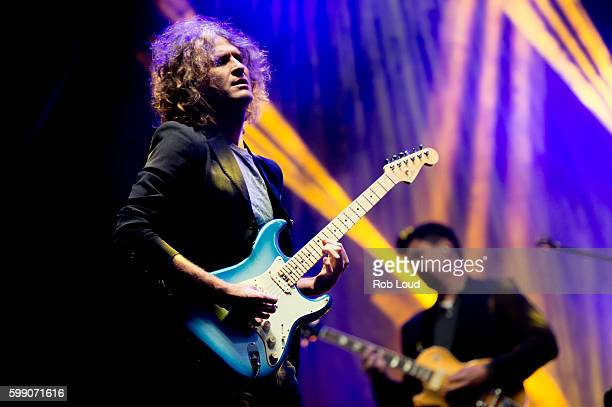 Dave Keuning Flowers of The Killers performs at Snowmass on September 3, 2016 in Aspen, Colorado.