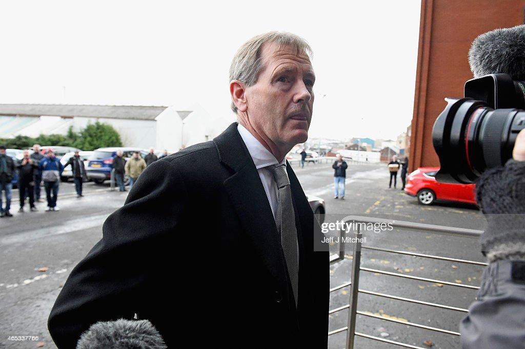 Rangers Hold Extraordinary General Meeting At Ibrox : News Photo