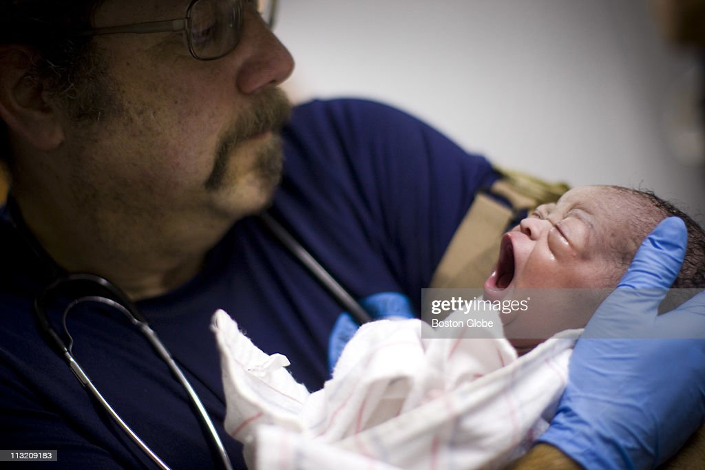 Dave Kissin, a respiratory therapist at Maine Medical Center