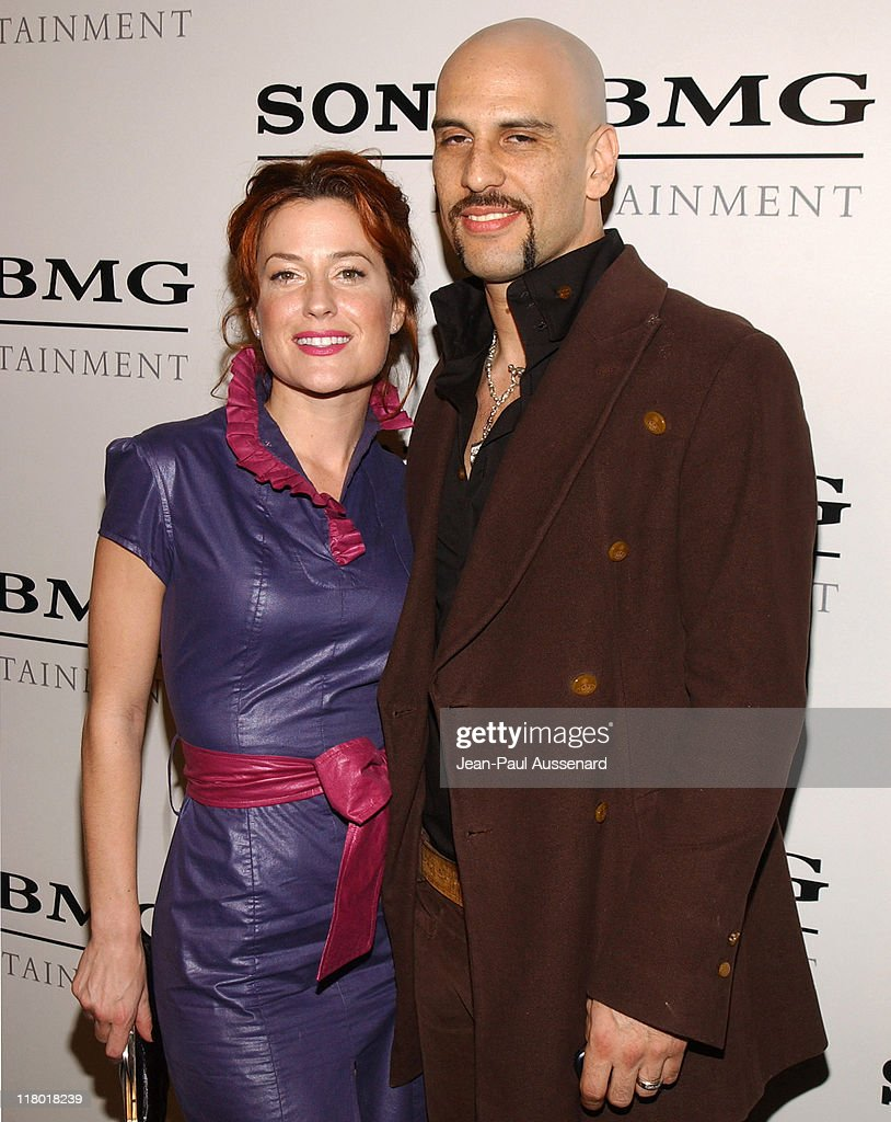 Dave Kushner and guest during Sony/BMG Music Entertainment 2005 After GRAMMY Awards Party - Arrivals at Hollywood Roosevelt Hotel in Hollywood, California, United States.