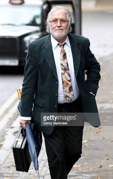 Dave Lee Travis arrives at court after facing charges of indecent assault and sexual assault relating to Operation Yewtree at Southwark Crown Court...