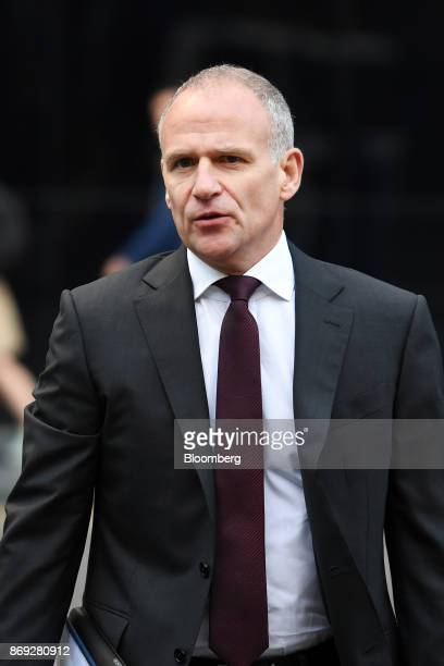 Dave Lewis chief executive officer of Tesco Plc arrives at Southwark Crown Court in London UK on Thursday Nov 2 2017 A senior Tesco Plc...