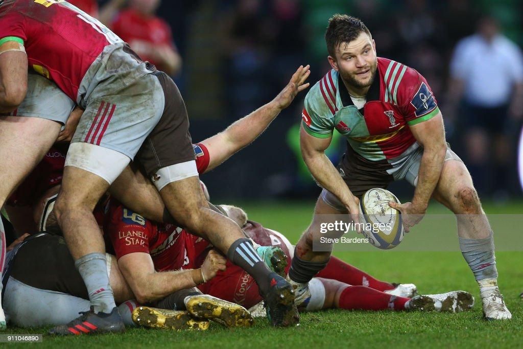 Harlequins v Scarlets - Anglo-Welsh Cup