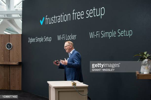 Dave Limp senior vice president of Amazon devices speaks about a culture goal of frustration free setup and easy integration in customers' existing...