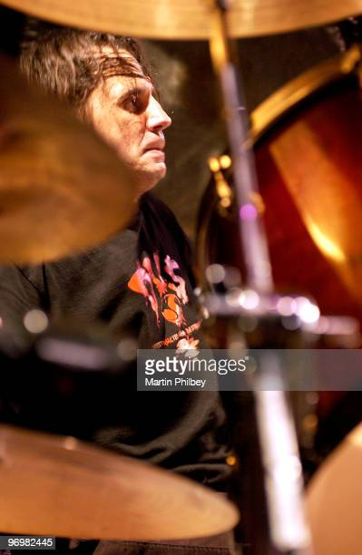 Dave Lombardo of the Fantomas performs on stage at the Palace Hotel on 12th December 2003 in Melbourne Australia
