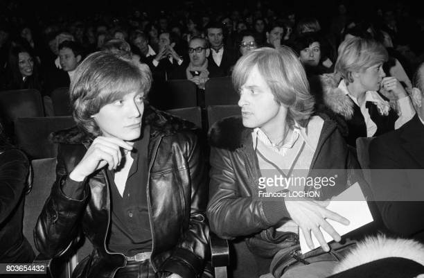 Dave lors du concert de Daniel Guichard à l'Olympia en décembre 1975 à Paris France