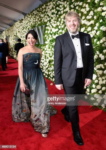 Dave Malloy attends the 2017 Tony Awards at Radio City Music Hall on June 11 2017 in New York City