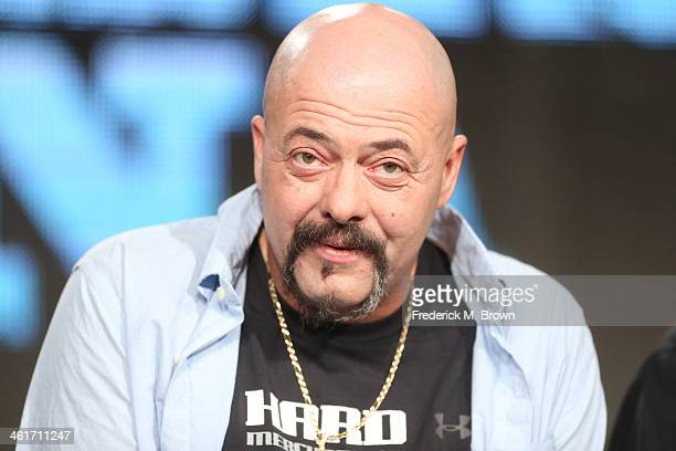 Dave Marciano speaks onstage during the 'National Geographic Channel Wicked Tuna' panel discussion at the National Geographic Channels portion of the...