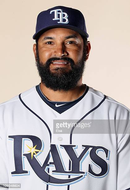 Dave Martinez of the Tampa Bay Rays poses for a portrait during the Tampa Bay Rays Photo Day on February 22 2011 at the Charlotte Sports Complex in...