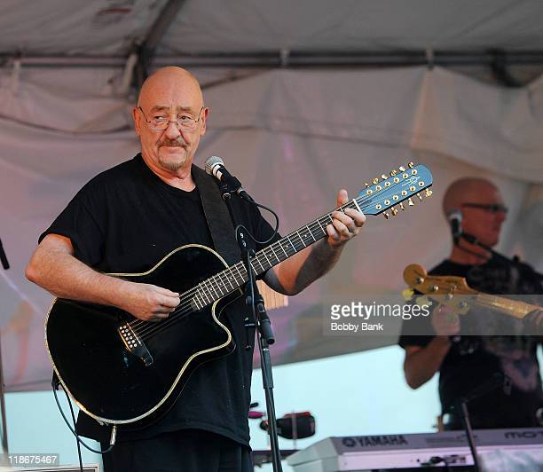 Dave Mason performs at Music on Main Street at Parker Press Park on July 9, 2011 in Woodbridge, New Jersey.