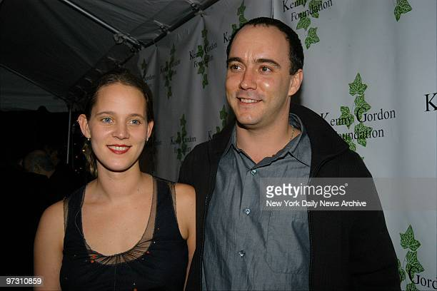 Dave Mathews and wife Ashley are on hand at a screening party for the movie Confessions of a Dangerous Mind at Metronome The bash benefited the Kenny...