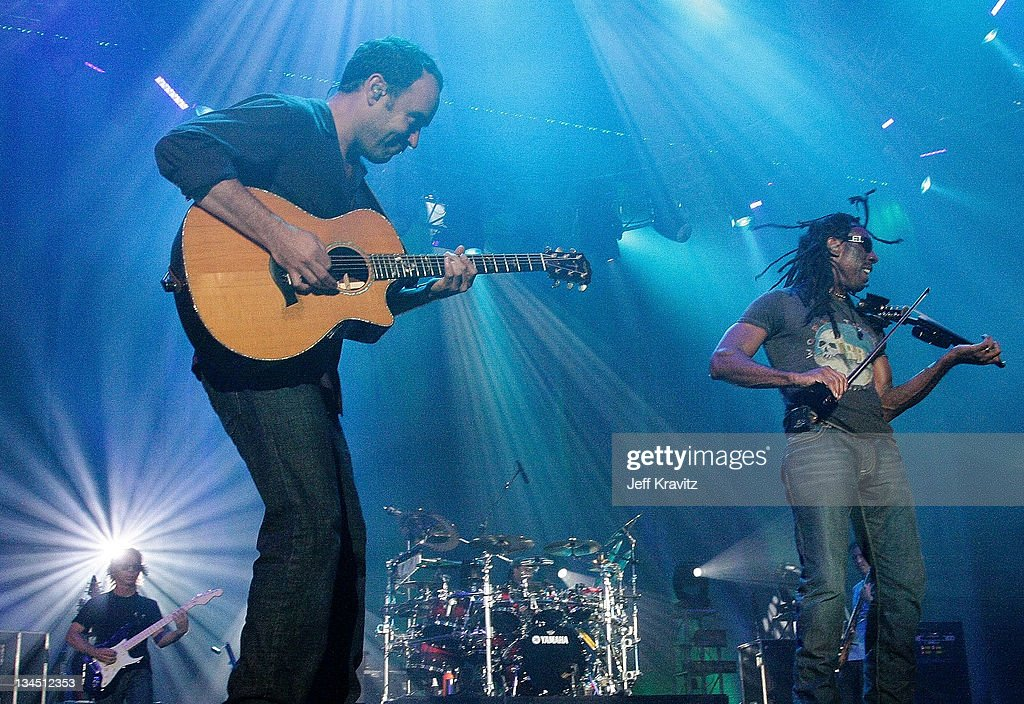 Dave Matthews and Boyd Tinsley of the Dave Matthews Band perform during day two of Dave Matthews Band Caravan at Bader Field on June 25, 2011 in Atlantic City, New Jersey.