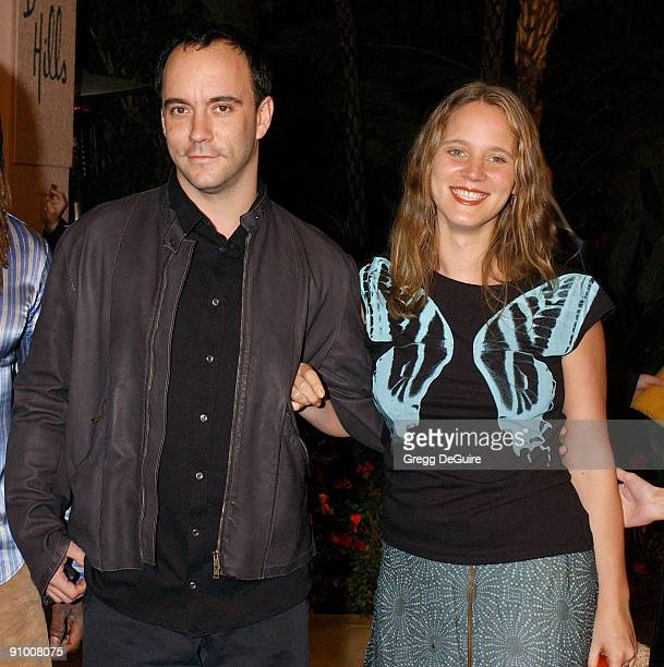 Dave Matthews and wife Ashley