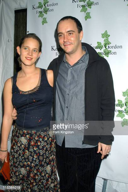 Dave Matthews and wife Mary during First Annual Kenny Gordon Foundation Benefit Screening of the Miramax Film Confessions of a Dangerous Mind in New...