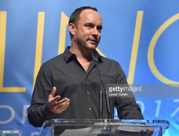 Dave Matthews at MFEI Spirit Of Life Honoring Coran Capshaw on November 2 2017 in Santa Monica California
