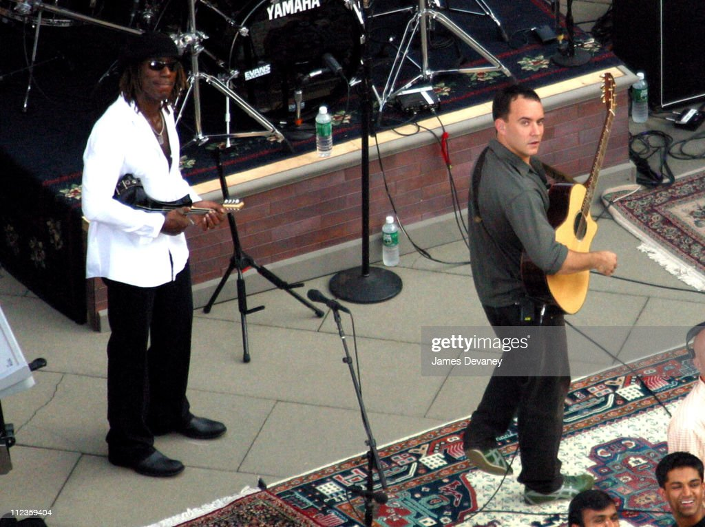 Dave Matthews Band during Dave Matthews Band Performs on the Roof of the Ed Sullivan Theatre for 'The Late Show with David Letterman' - July 15, 2006 at Ed Sullivan Theatre in New York City, New York, United States.