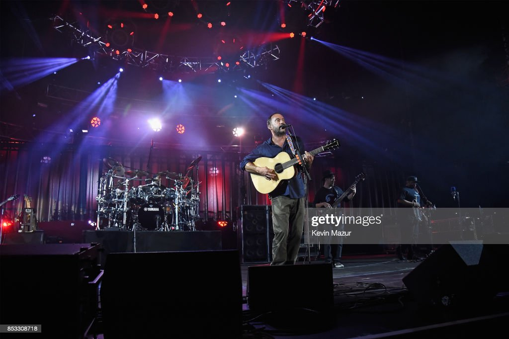 Dave Matthews Band performs at 'A Concert for Charlottesville,' at University of Virginia's Scott Stadium on September 24, 2017 in Charlottesville, Virginia. Concert live-stream presented in partnership with Oath.