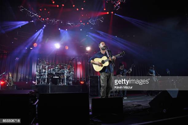 Dave Matthews Band performs at 'A Concert for Charlottesville' at University of Virginia's Scott Stadium on September 24 2017 in Charlottesville...