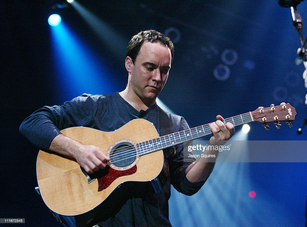 Dave Matthews during Dave Matthews and Friends Perform in Chicago at Allstate Arena in Rosemont, Illinois, United States.