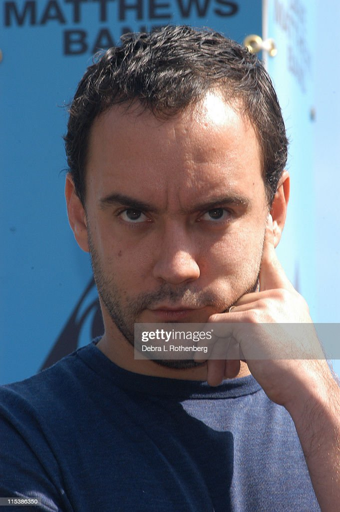 Dave Matthews during Dave Matthews Band Hold a Press Conference to Announce Their Concert on September 24, 2003 to Benefit New York City Public Schools at Belvedere Castle - Central Park in New York City, New York, United States.
