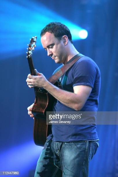 Dave Matthews during Dave Matthews Band in Concert at Randall's Island in New York July 30 2005 at Randall's Island in New York City New York United...