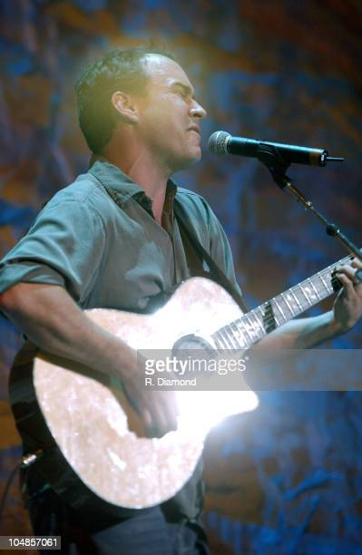 Dave Matthews during Farm Aid 2003 Backstage at Germaine Amphitheater in Columbus Ohio United States