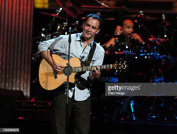 Dave Matthews during Vote for Change Concert Washington DC October 11 2004 at MCI Center in Washington DC United States