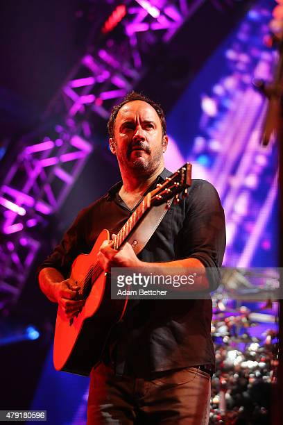 Dave Matthews from the Dave Matthews Band performs at Xcel Energy Center on July 1, 2015 in St. Paul, Minnesota.