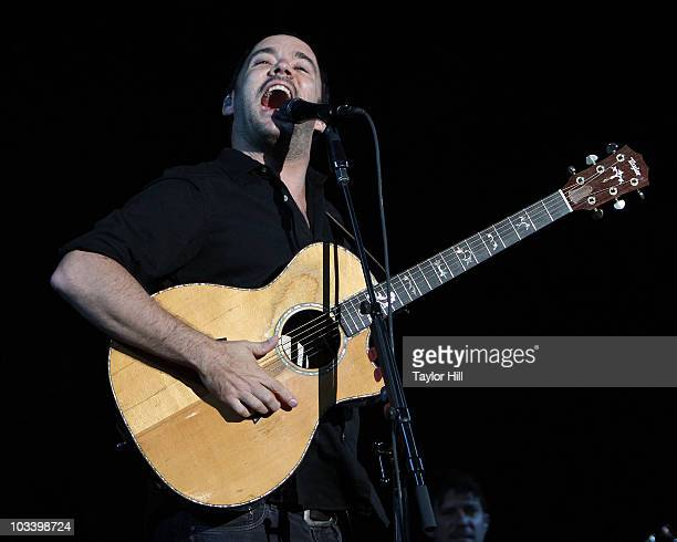 Dave Matthews of Dave Matthews Band performs at the 2010 Mile High Music Festival at Dick's Sporting Goods Park on August 15, 2010 in Commerce City,...