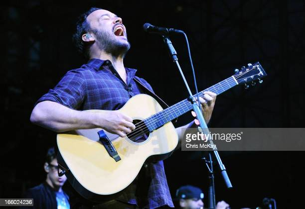 Dave Matthews of Dave Matthews Band performs during the 2013 Big Dance Concert Series at Centennial Olympic Park on April 7 2013 in Atlanta Georgia