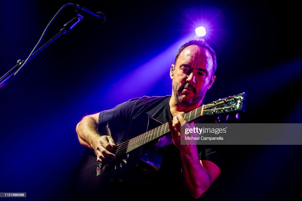 SWE: Dave Matthews Band Perform In Concert In Stockholm