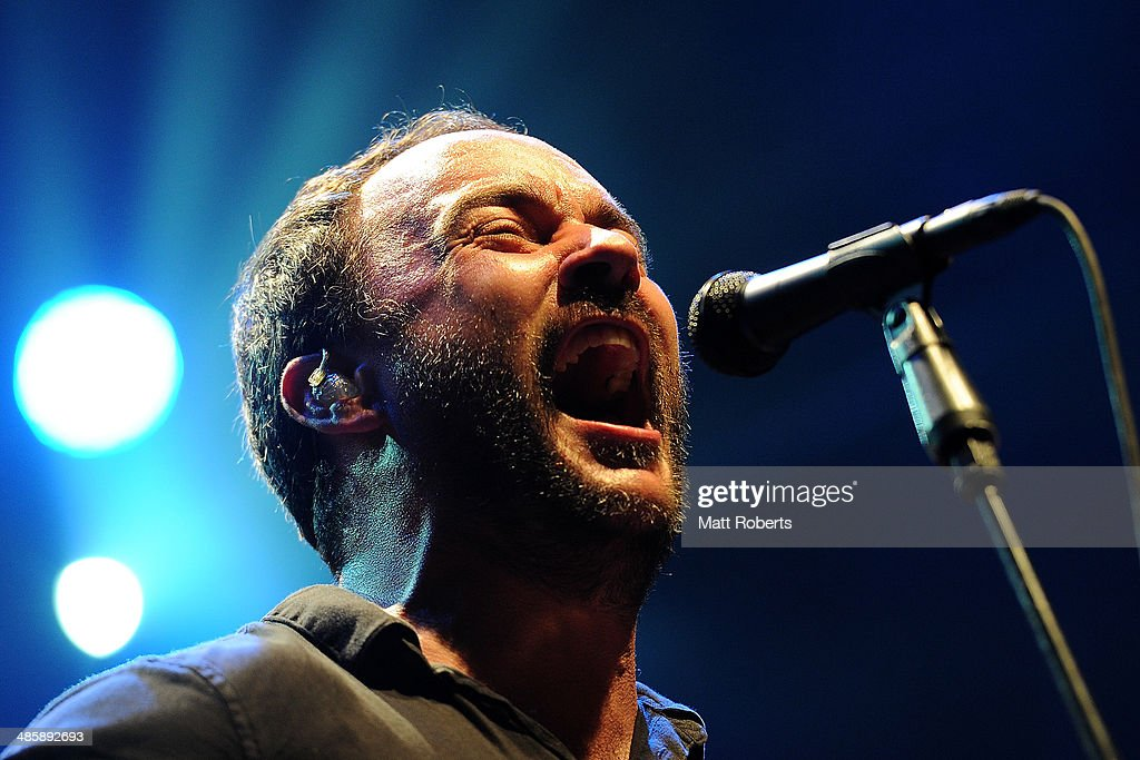 Dave Matthews of the Dave Matthews Band performs live for fans at the 2014 Byron Bay Bluesfest on April 21, 2014 in Byron Bay, Australia.
